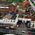 De vroegere brouwerij Belgica in Gent / foto 1990