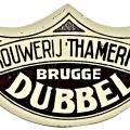 Halsetiket Brugge Dubbel 1949