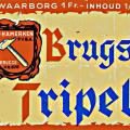 etiket Brugse Tripel 1953