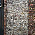 """Muurbeschildering """"Depot Haecht"""" 1980"""