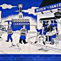 't Hamerken reclamebord 1960