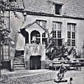 Tuin 1900 op balkon Uitbater Emile Vermeulen