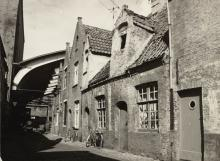 Afsluiting Rijkepijnderstraat /foto 1972