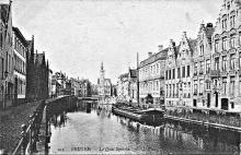 Zicht op Spiegelrei 1905