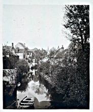 Zicht vanop de Leeuwenbrug 1897