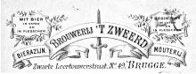 Briefhoofd Brouwerij 't Zweerd