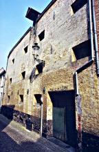 Mouterijmuur in de Zvensterrenstraat 1993