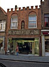 Gevel Noorzandstraat 89, vroeger brouwerij De Gapaert
