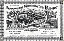 Lithografie Brouwerij De Roos