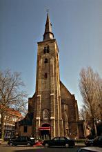 St.-Annakerk vanop de Sint-Annabrug