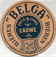 Biervilt uit de periode van Louis & Emile Cauwe