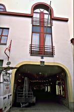 Vroegere poort van de brouwerij 1993